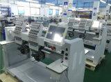 ボビンの巻取り機の造りの1000の速度の商業および産業刺繍機械2ヘッド