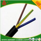 Cavo di controllo isolato PVC di rame solido del fodero del conduttore