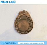 Sports faits sur commande de médaille en métal exécutant le souvenir de métiers de médailles