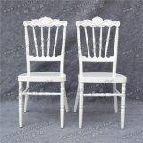 Silla de aluminio de Napolen Tiffany Chiavari de la alta calidad del banquete blanco amontonable al por mayor de la boda para el acontecimiento y el alquiler (YC-A08W)