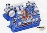 Las piezas del motor diesel motor generador de piezas de repuesto de la cabeza del cilindro del pistón