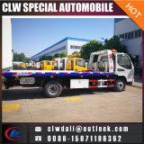 carro de camión de auxilio plano de la remolque de 4X2 5ton, carro del retiro del bloque de camino