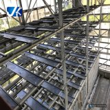 Vertiente del garage de la estructura de acero de la descarga de Hamada
