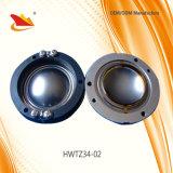 diafragma Titanium del programa piloto de la compresión de la bobina de voz de 34.4m m para el altavoz