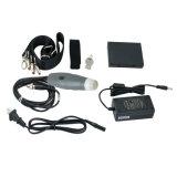 China-Hersteller-Handveterinärtierarzt-Ultraschall-Scanner-Maschine mit wasserdichtem Mehrfrequenzsektor-Fühler - Fanny
