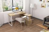 강철 관 MDF 테이블 책꽂이를 가진 컴퓨터 테이블 금속 란 홈 휴대용 퍼스널 컴퓨터 PC 책상