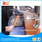 Hand het Vullen Churros Machine met Roestvrij staal 304