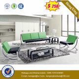 أثاث لازم حديثة فولاذ جلد يعيش غرفة مكتب أريكة قطاعيّ ([هإكس-كس015])