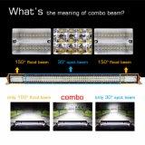 refletor IP68 de 4X4 8d barra clara do diodo emissor de luz do carro de 12 volts, 42 barra clara Offroad por atacado do diodo emissor de luz da fileira do caminhão 4 da polegada