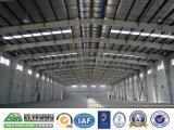 Magazzino industriale prefabbricato dell'acciaio della tettoia della costruzione d'acciaio di basso costo