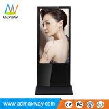 WiFi drahtloser 3G 4G Fußboden, der 49 Zoll LCD Spieler-Kiosk (MW-491ALN) steht bekanntmachend