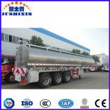 2/3 Axle алюминиевых тепловозных топливного бака масла перехода топливозаправщика трейлеров Semi