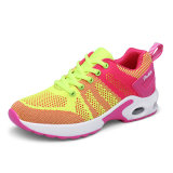 Form rosafarbenes neues Wonmen bereift helle Sport-Schuhe Flyknit obere Frauen-Schuh-laufende Schuhe