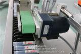 Selbstklebende konische Flaschen-Etikettiermaschine mit Code-Drucker