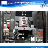 Máquina de etiquetado mineral automática llena del encogimiento de la funda de la escritura de la etiqueta de la botella de agua