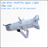 20W 무선 소형 LED Gobo 프로젝트 빛 스튜디오 점화