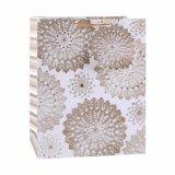 Мешок подарка магазина одежды способа точечного растра польки бумажный