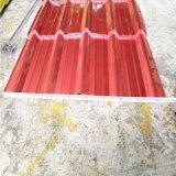 Anti-Ultraviolet resistente a la corrosión y Nano Teja chapa de acero