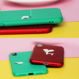 多彩でかわいい漫画iPhone Xのための動物の柔らかいTPUの電話箱