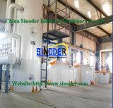Equipo de la refinería de petróleo de cacahuete de la máquina de la refinería de petróleo de coco