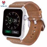 Appleの腕時計38mm/42mmのAppleの時計バンドの本革のブレスレットのAppleの腕時計の革ループストラップのため、