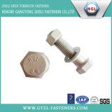 Болт с шестигранной головкой ранга стали углерода DIN933 8.8 с HDG