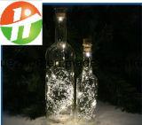 زخرفيّة يشعل [لد] عيد ميلاد المسيح منزل حلية زجاجيّة [وين بوتّل] [لد] عيد ميلاد المسيح زجاجة ضوء