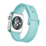 Nouveau modèle de boucle ronde Bracelet en silicone pour Apple Watch