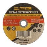 금속을%s 180*3*22.2mm 편평한 유형 커트오프 디스크 절단 바퀴