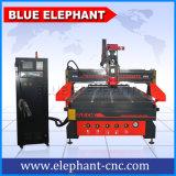 切断Ele1530atcの計算機制御CNCのルーターのための木製のドアCNCのルーター機械