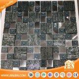 300x300mm estilo árabe iridiscente vidro e metal Mosaic (M855333)