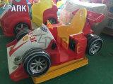 子供の遊園地はテーマパークの乗車に乗る