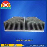 Disipador de calor de aluminio de la protuberancia del poder más elevado para la industria automática