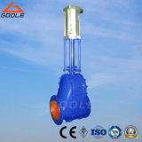A válvula de alimentação de cerâmica pneumática (GZJ644TC)