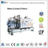 100 ton de controlo PLC Siemens Chiller do parafuso arrefecidos a água