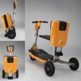 Vespa eléctrica de la movilidad de las ruedas al por mayor de la naranja tres