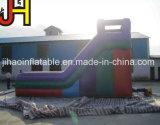 Almofada insuflável colorido jogo deslizante seca para o parque de diversões