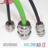 Metrischer Typ 304 316L Kabelmuffe des wasserdichtes MetallIP68