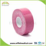 Color de la terapia médica Physio Kinesiología precio de fábrica de cintas personalizadas