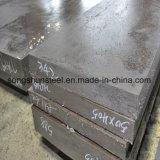 Плита сплава материала 52100 кованой стали стальная
