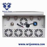 250W 고성능 전방향성 안테나를 가진 방수 OEM 신호 방해기