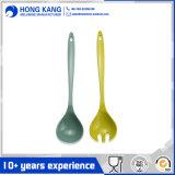Bonito diseño Unicolor Vajilla de melamina cuchara para niños