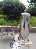 Multi-stade poli en acier inoxydable de haute qualité sanitaire du boîtier de filtre de la cartouche