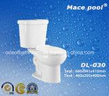 Toletta a due pezzi degli articoli sanitari della stanza da bagno (DL-030)