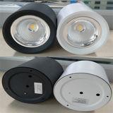 MAZORCA montada superficie LED Downlight de la luz de techo del LED 10W Epistar