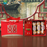 Kundenspezifische Pappfach-Großhandelsart-Papierverpackengeschenk-Zigaretten-Eingriff. Kasten-Griff für Hochzeit