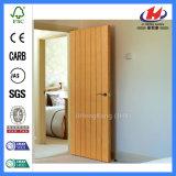Sola puerta de madera simple enrasada de Prehung