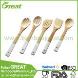 El bambú utensilios de cocina