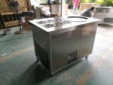 Negocios Venta caliente freír los helados de la máquina con el controlador de temperatura