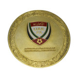 Venda por grosso de Ouro Branco Personalizado Sultanato moeda metálica